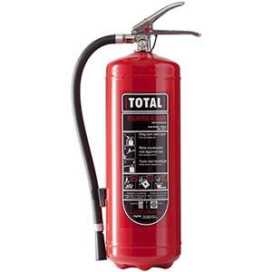 Total brandsläckare - brandsläckare bäst i test
