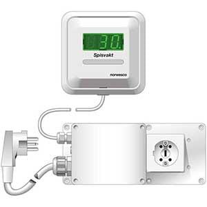 NORWESCO StoveGuard SVP 400 spisvakt - 3 bra spisvakter du kan installera själv