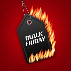 Black Friday brandsäkerhet för hemmet - Bästa priserna på brandvarnare, brandsläckare, brandfilt och gasvarnare under Black Week.